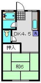 二子新地駅 徒歩28分2階Fの間取り画像