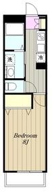 レベアス大和1階Fの間取り画像