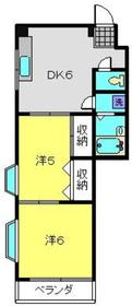 新川崎駅 バス11分「南加瀬交番前」徒歩2分2階Fの間取り画像