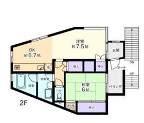 JCビル2階Fの間取り画像