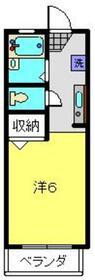 フォルテ1階Fの間取り画像