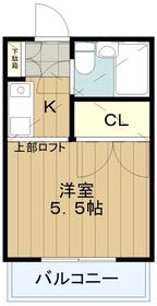ロアジール永山2階Fの間取り画像