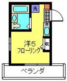 ライトマルシェ1階Fの間取り画像