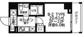 吉野町駅 徒歩3分2階Fの間取り画像