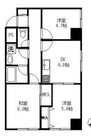南太田駅 徒歩10分7階Fの間取り画像
