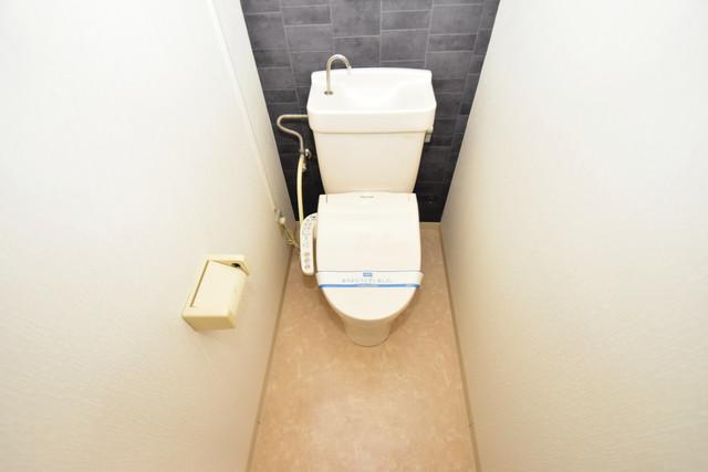 グランドメゾン樋口 うれしいウォシュレット完備。心地よい空間です。