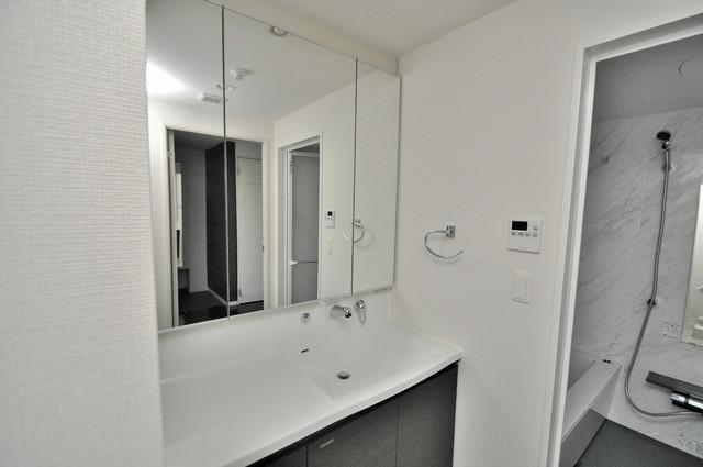 プレミアム菱屋西 豪華な洗面台はもちろんシャンプードレッサー完備です。