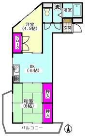 マツイチサンパレス�V 403号室