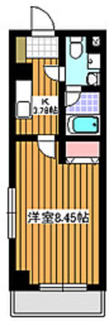 地下鉄赤塚駅 徒歩7分間取図