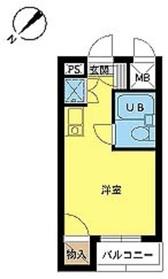 スカイコート阿佐ヶ谷第31階Fの間取り画像