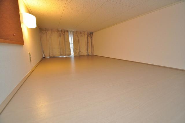 レオパレスフセアジロミナミ 広々ロフトで寝室として使ってただけます。