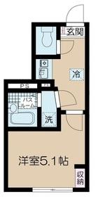高円寺駅 徒歩9分1階Fの間取り画像