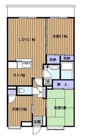 シェ・ノートフ桑原台1階Fの間取り画像