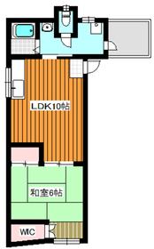 ワイズハウス2階Fの間取り画像