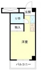 マツモトビル5階Fの間取り画像