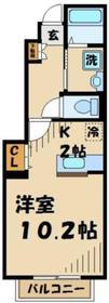 栗平駅 徒歩8分1階Fの間取り画像
