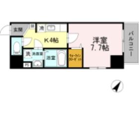 YSC横浜ビル6階Fの間取り画像