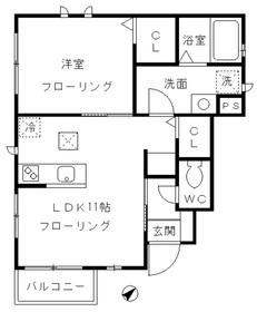 ASUKA1階Fの間取り画像