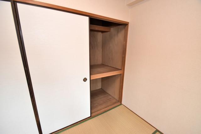 マンションサンパール コンパクトながら収納スペースもちゃんとありますよ。