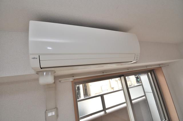 巽北ロイヤルマンション エアコンが最初からついているなんて、本当に助かりますね。