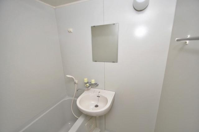 サンビレッジ・デグチⅡ 可愛いいサイズの洗面台ですが、機能性はすごいんですよ。