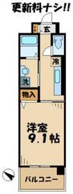 ジェット別所3階Fの間取り画像