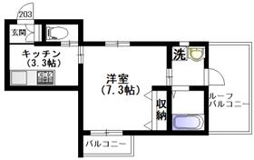 3426 Terrace 若宮2階Fの間取り画像