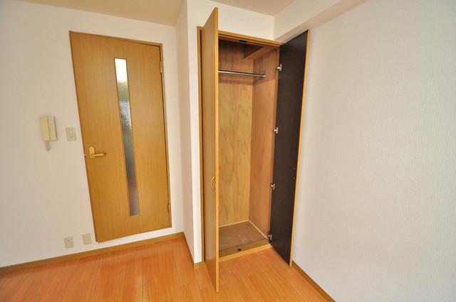 ロンモンターニュ小阪 もちろん収納スペースも確保。いたれりつくせりのお部屋です。
