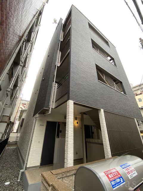 大阪市住吉区苅田7丁目の賃貸マンションの外観
