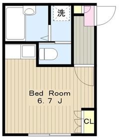 ルロジェ2階Fの間取り画像
