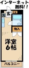 JKビル ジェイケイビル3階Fの間取り画像