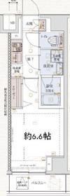 横浜駅 徒歩13分8階Fの間取り画像