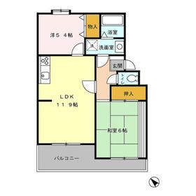 和光市駅 徒歩4分3階Fの間取り画像