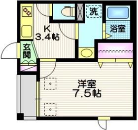 仮称 西尾久5丁目メゾン1階Fの間取り画像