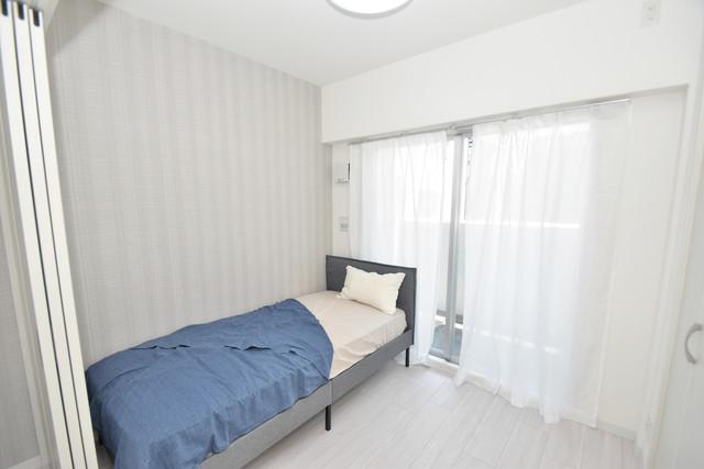 メルベージュ布施 朝には心地よい光が差し込む、このお部屋でお休みください。