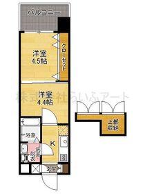 プロジェクト2100日赤通り No.51  : 4階間取図