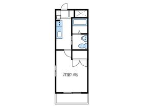 カーサアンジェラ2階Fの間取り画像