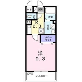 カサ・デ・マレーナ3階Fの間取り画像