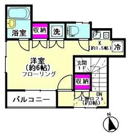 ベルドゥ下丸子 201号室