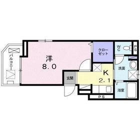 フランメゾン3階Fの間取り画像