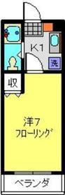 大倉山駅 徒歩23分3階Fの間取り画像