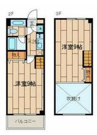 PHOENIX狛江2-3階Fの間取り画像