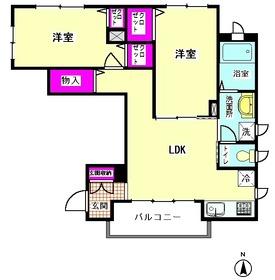 シャーメゾンSumire 201号室