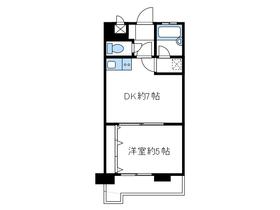 ライオンズマンション海老名第24階Fの間取り画像