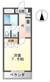 メゾン・トランタンヌーフ1階Fの間取り画像