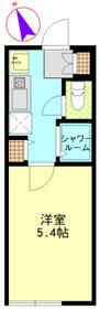 ウィンレックス赤羽3階Fの間取り画像