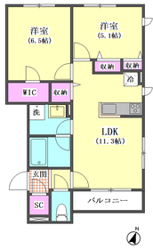 千鳥3丁目シャーメゾン 202号室