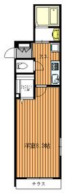ボーノ・カーサ1階Fの間取り画像