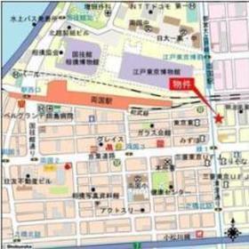 蔵前駅 徒歩18分案内図