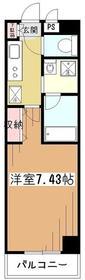 PADDY FIVE3階Fの間取り画像